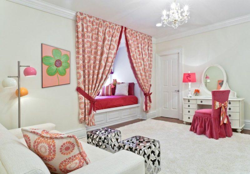 Как украсить короткие шторы для спальни самостоятельно