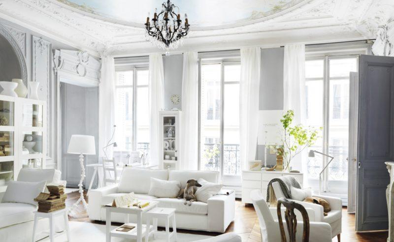 Лепнина в декоре потолка