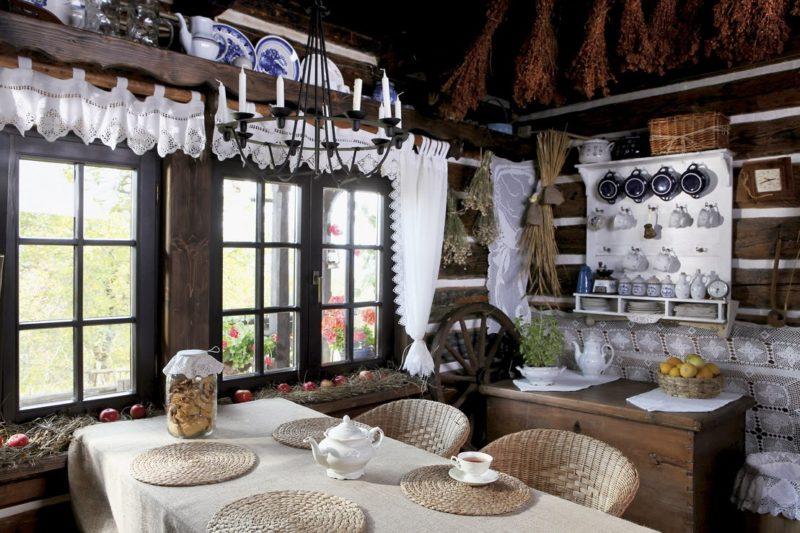 Деревенский дом: характерные атрибуты