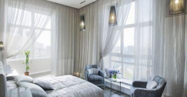 Как выбрать тюль для спальни